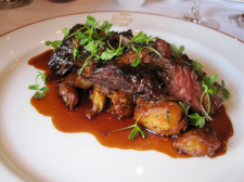 Duo of beef with Bordelaise sauce - photo by Jordan Wright
