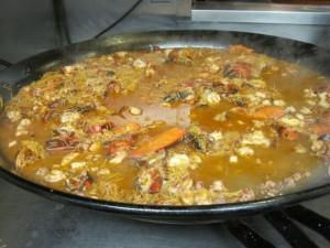 Seafood paella -photo by Jordan Wright
