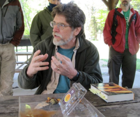MAWDC Culinary Chair, John Harper instructs the novice foragers - photo by Jordan Wright