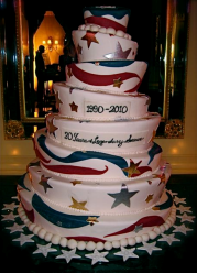 Ritz-Carlton's Anniversary Celebration cake - Photo by Jordan Wright