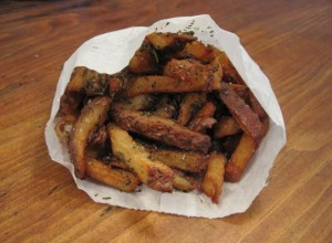 Village fries from The Good Stuff Cookbook - photo by Jordan Wright.
