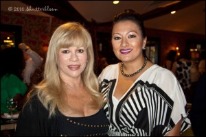 CUN Founder Daphna Ziman (left) with Lani Hay - photo courtesy of  Shutterbloom photography