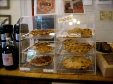Countertop pies at the Carolina Cider Company - photo by Jordan Wright