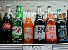 Soda pop for sale - photo by Jordan Wright