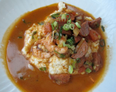Shrimp and Grits at High Cotton - photo by Jordan Wright