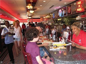 The scene at the Silver Diner - photo by Jordan Wright