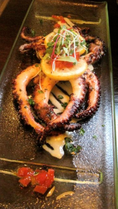 Grilled Zatar-spiced Octopus at Morso - photo by Jordan Wright