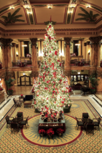 The lobby of The Jefferson Hotel - photo courtesy of the hotel