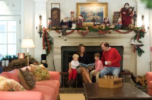 Christmas at Keswick Hall - photo courtesy of the inn
