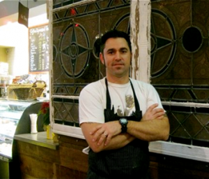 Chef/Owner David Guas at his new digs Bayou Bakery - photo by Jordan Wright