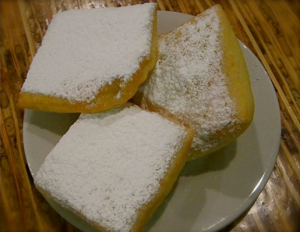 Hot and steamy beignets at Bayou Bakery - photo by Jordan Wright