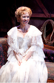 Leading lady, Millicent Cavendish, played affectingly by Rebecca Watson