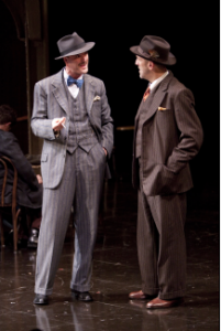Tim Getman as Solanio and Andy Murray as Solario in the Shakespeare Theatre Company's production of The Merchant of Venice, directed by Ethan McSweeny. Photo by Scott Suchman.