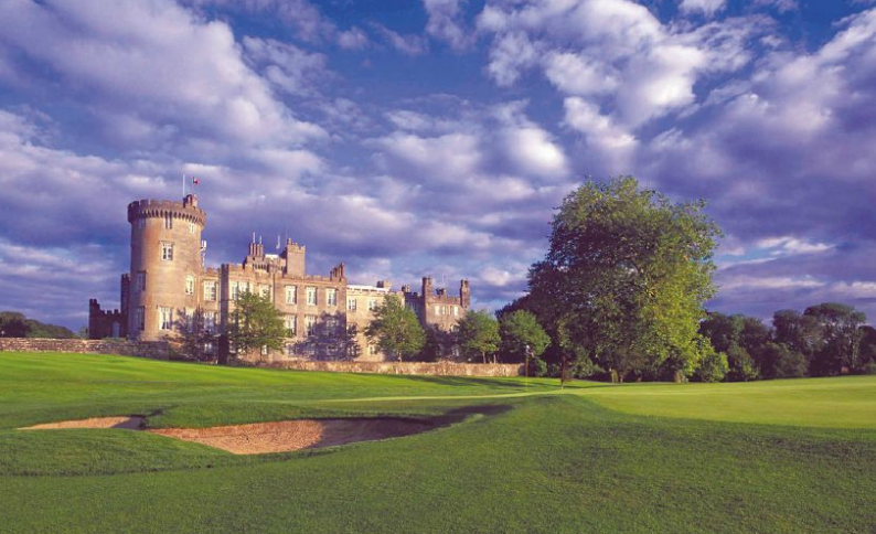 Dromoland Castle Golf and Spa Resort is a short drive from Shannon Airport in southwest Ireland