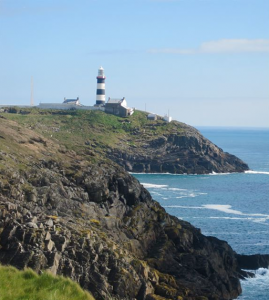 The lighthouse at Old Head Golf Links - photo credit Jordan Wright
