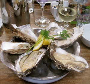 Local oysters at the Farm Gate Cafe in Cork - photo credit Jordan Wright