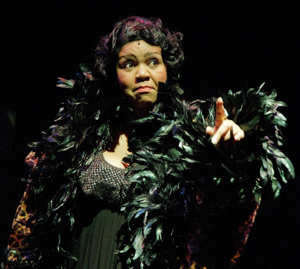 Aisha de Haas as Big Bertha Smith - Photo credit: C. Stanley Photography