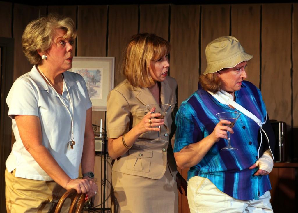 Tina Anderson, Kacie Greenwood, and Gayle Grimes - Photo Credit Eddie Page