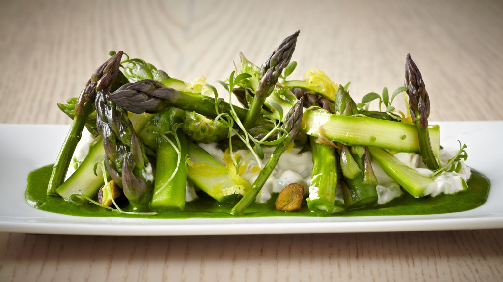 Asparagus Salata - Photo credit Greg Powers
