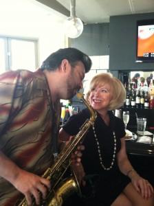 "Jaared Arosemena - the ""Sax Man"" at Melody Tavern"