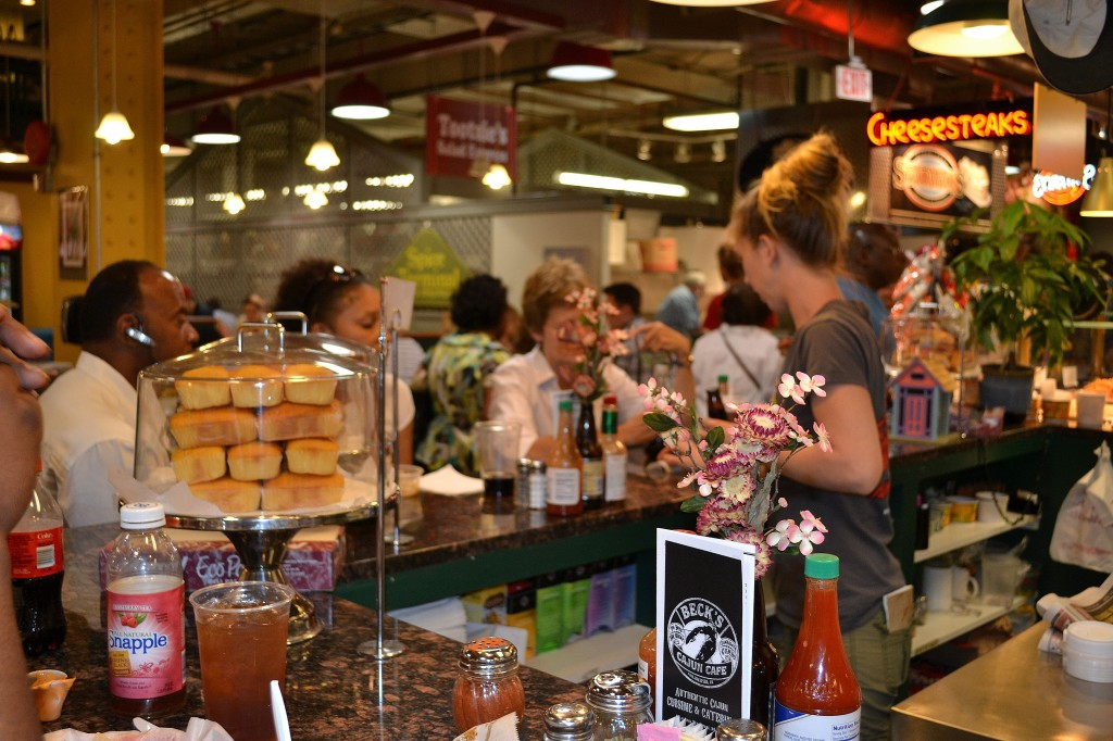 Beck's Cajun Cafe in the Redding Terminal Market - Photo credit Jordan Wright