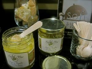 Earth & Vine sofi award winning Spicy Apple Garlic Jam - photo credit Jordan Wright