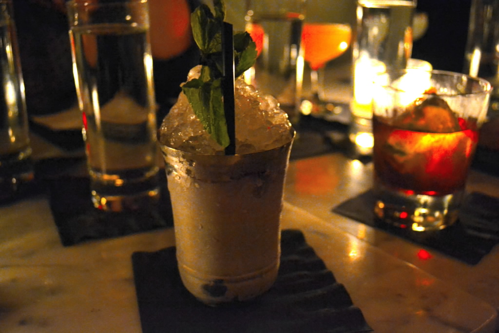 The Mint Julep at Franklin Mortgage and Investment Company - Photo credit Jordan Wright