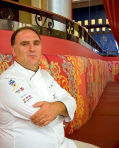 Jose Andres at Jaleo Crystal City - photo credit Jordan Wright