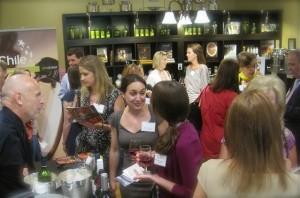 At Sapore to reveal the sofi award finalist. Wines courtesy of ProChile - photo credit Jordan Wright