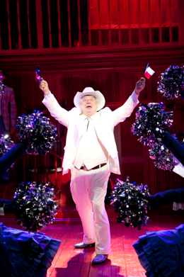 "Dan Manning dances ""The Sidestep"" as the Texan governor in ""The Best Little Whorehouse in Texas"" Photo: Scott Suchman"