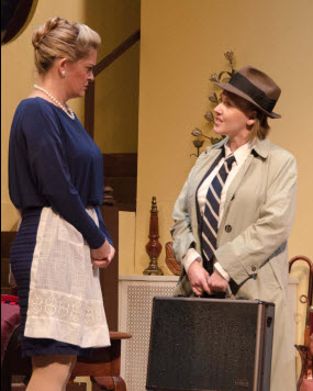 Charlene Sloan (Jean Perkins) and Marisa Johnson (Slater) - Photo by Doug Olmstead