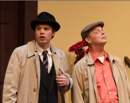 Erik Harrison (Henry Perkins) and John Shackelford (Bill) - Photos by Doug Olmsted