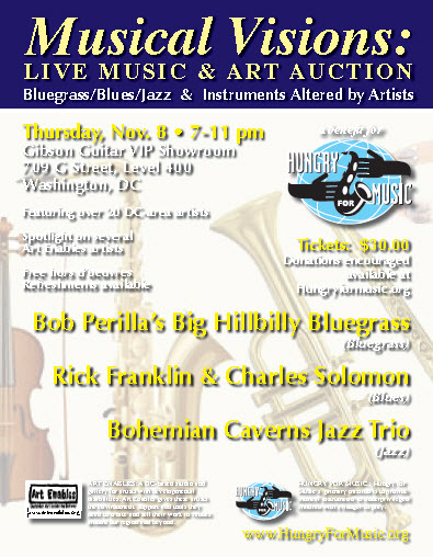 MUSICAL VISION: Live Music and Art Auction
