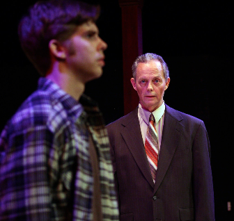 James Myers (Warren Ives) and John Shackelford (Williams Ives) - Photo by Shane Canfield