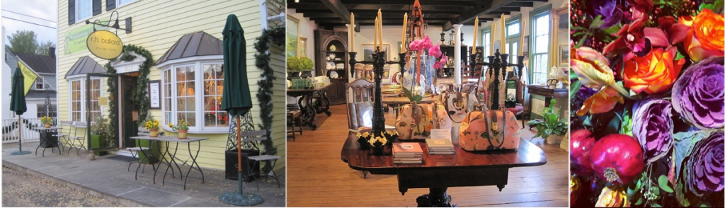 r.h. Ballard Shop - Little Washington Shop - Fall Floral Display - Photo credit Jordan Wright