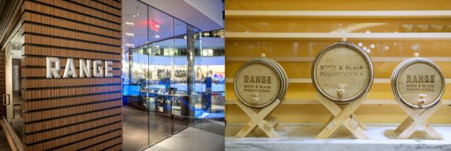 Range Restaurant - Potato Vodka