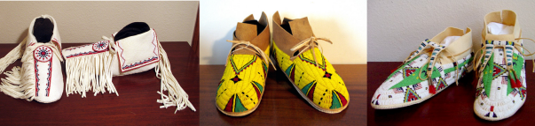 Men Moccasins - Michael and Pam Knapp from KQ Designs photos  - All photo credit to Pam Knapp