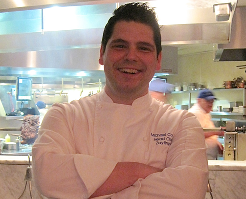 Head Chef at Zaytinya - Michael Costa - photo credit Jordan Wright