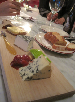 Les fromages at Le Diplomate - photo credit Jordan Wright