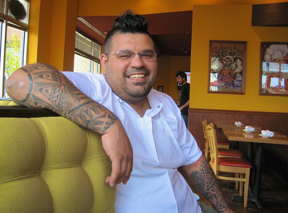 Executive Chef Will Artley of Pizzeria Orso - photo credit Jordan Wright