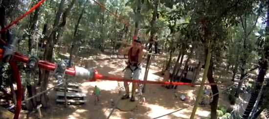 Tree to Tree Adventures Zipline at Tallahassee Museum