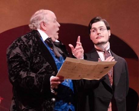 David Rampy (Anton Diabelli) and Ken Gaul (Anton Schindler) - Photo credit Paul Olmsted