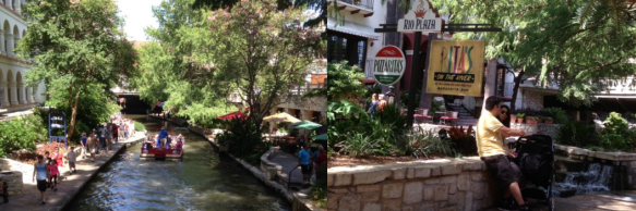 San Antonio River Walk -  Rita's on the River