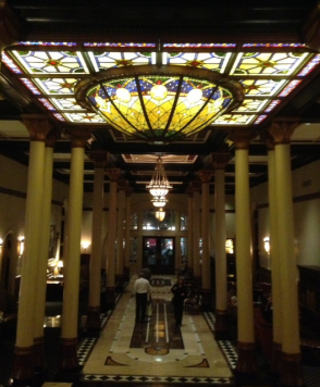 Interior of the Driskill Grill