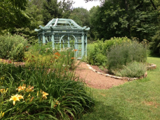 The Roger Tory Peterson Butterfly Garden dedicated to Airlie by his wife Virginia Peterson - photo credit Jordan Wright