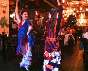 Flamenco dancers at La Tasca - photo credit Jordan Wright