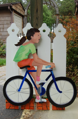"""Come Bike With Me"" - Oxford Picket Fence Project"