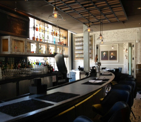 The zinc bar