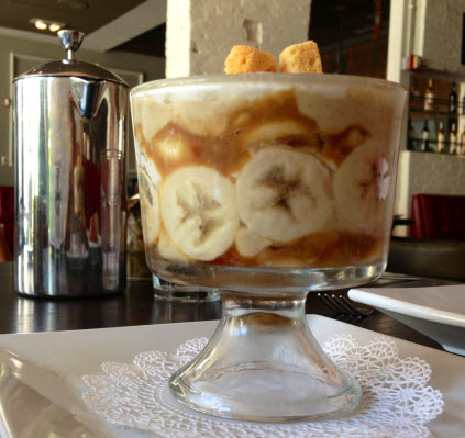 The creamy dreamy banana pudding