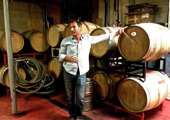 Winemaker Sebastien Marquet
